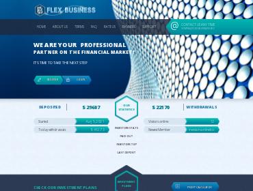flex-business screenshot
