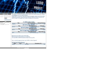 luxioprofit screenshot