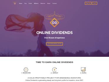 onlinedividends screenshot