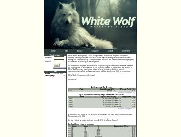 white-wolf screenshot