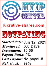 lucrative-shares status